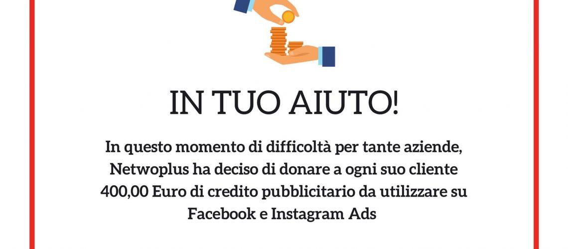 QUOTA DI CREDITO PUBBLICITARIO NETWOPLUS